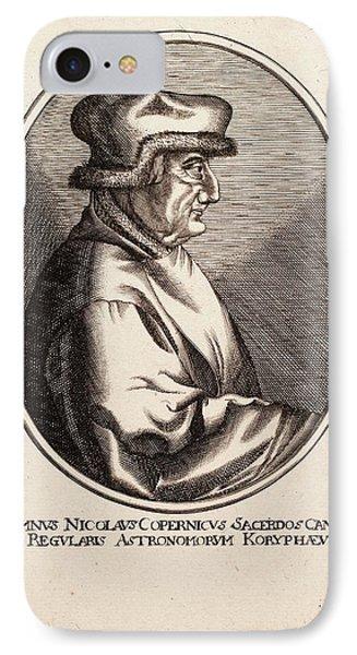 Nicolaus Copernicus IPhone Case by Paul D Stewart
