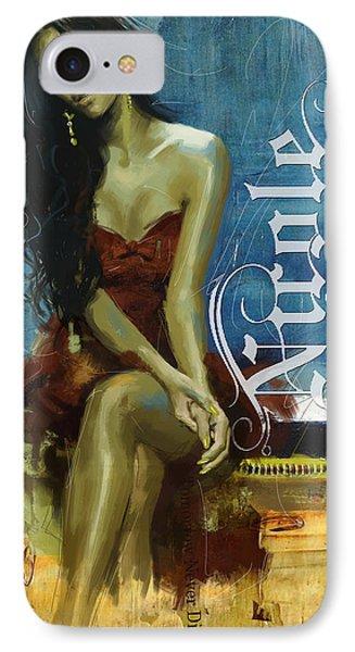 Nicole Scherzinger Phone Case by Corporate Art Task Force