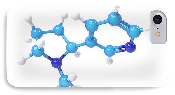 Nicotine Molecule IPhone Case