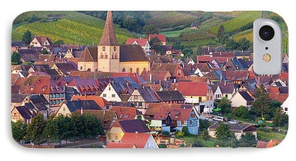 Niedermorschwihr, Alsace, France IPhone Case by Peter Adams