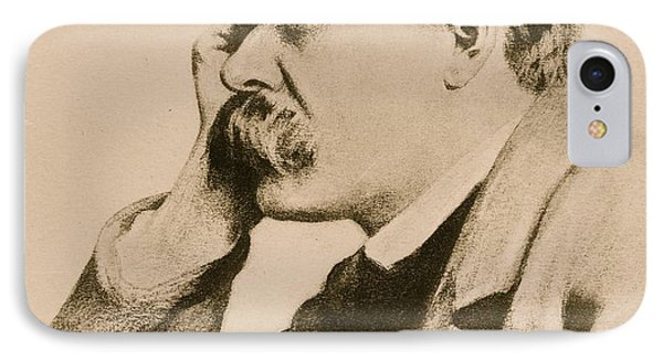Nietzsche IPhone Case by Anonymous