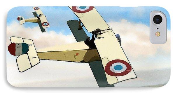 Nieuport 11 Bebe IPhone Case by John Wills