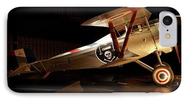 Nieuport 24 Biplane, Omaka Aviation IPhone Case by David Wall