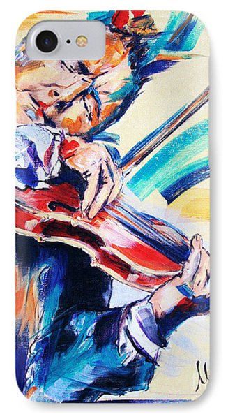 Nigel Kennedy Phone Case by Melanie D