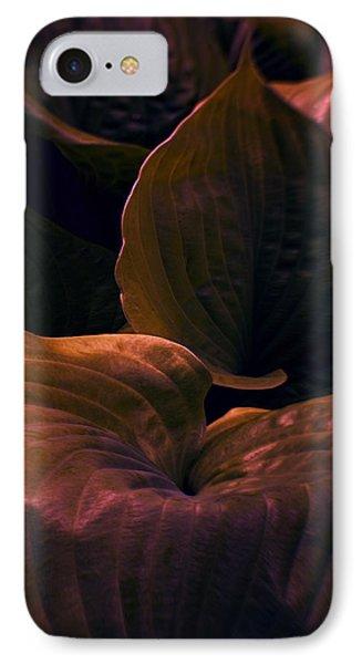 Night Abyss IPhone Case by Jean OKeeffe Macro Abundance Art