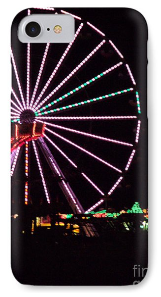 Night At The Fair IPhone Case by Megan Dirsa-DuBois