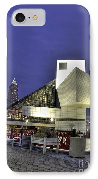 Night At The Fame Phone Case by David Bearden