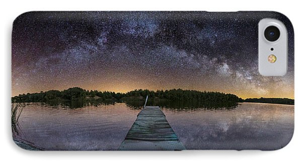 Night At The Lake  IPhone Case by Aaron J Groen