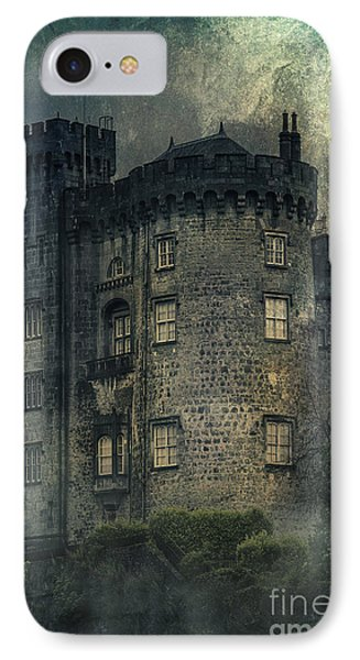 Night Castle IPhone Case by Svetlana Sewell