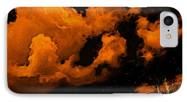 Night Clouds IPhone Case by Persephone Artworks