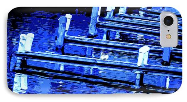 Night Docks IPhone Case by Brian Stevens