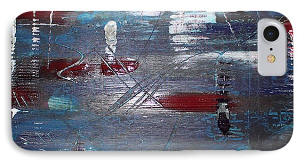 IPhone Case featuring the painting Night Drive by Lucy Matta