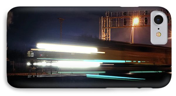 Night Express - Union Pacific Engine Phone Case by Steven Milner