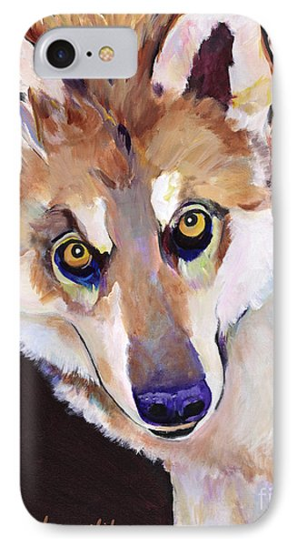 Night Eyes Phone Case by Pat Saunders-White