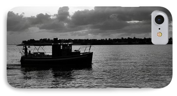 IPhone Case featuring the photograph Night Fishing by Laurie Perry