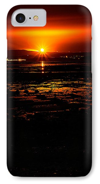 Night Flare. IPhone Case by Lenny Carter