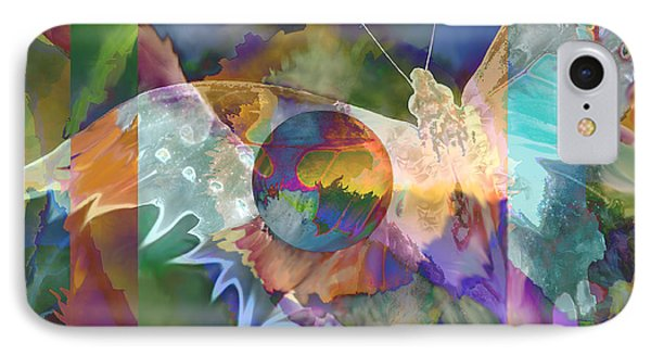IPhone Case featuring the digital art Night Flight by Ursula Freer