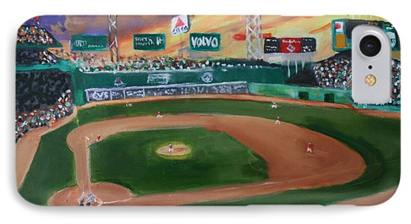 Night Game At Fenway IPhone Case by Joshua Chase