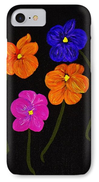 IPhone Case featuring the painting Night Glow by Celeste Manning