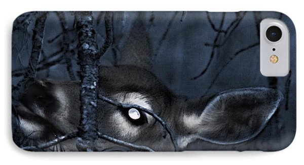 IPhone Case featuring the photograph Night Grazing by Janie Johnson