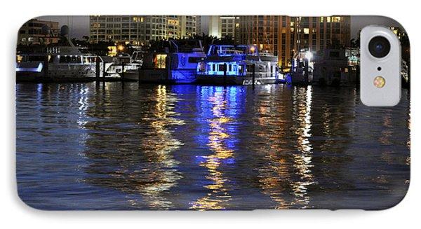Night Harbor Sarasota Florida IPhone Case