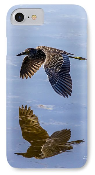 Night Heron Fly By 1 IPhone Case