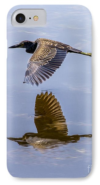 Night Heron Fly By 2 IPhone Case