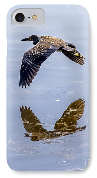 Night Heron Fly By 3 IPhone Case