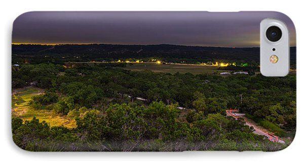 IPhone Case featuring the photograph Night In A Texas Hill Country Valley by Darryl Dalton