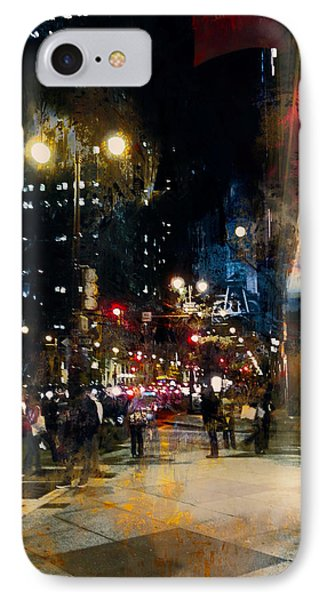 IPhone Case featuring the photograph Night In The City by John Rivera