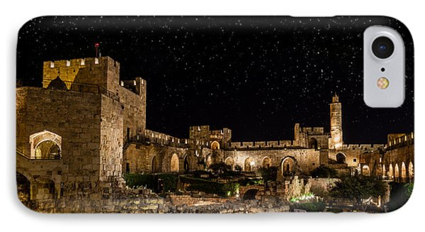Night In The Old City IPhone Case by Alexey Stiop