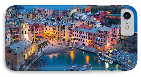 Night In Vernazza Phone Case by Inge Johnsson