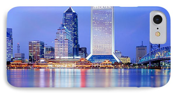 Night, Jacksonville, Florida, Usa IPhone Case by Panoramic Images