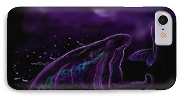 Night Life At The River  IPhone Case