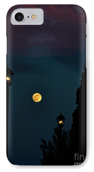 Night Lights IPhone Case by Lydia Holly