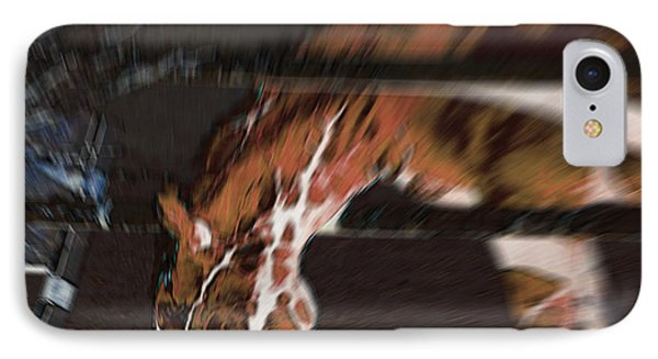 IPhone Case featuring the digital art Night-mare by Stuart Turnbull