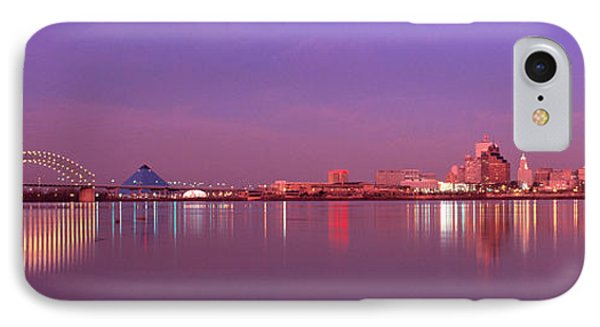 Night Memphis Tn IPhone Case by Panoramic Images