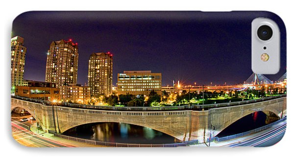 Night Moves 2-boston IPhone Case by Joann Vitali