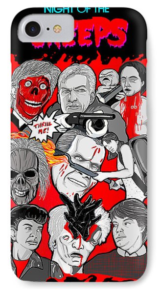 Night Of The Creeps  Phone Case by Gary Niles