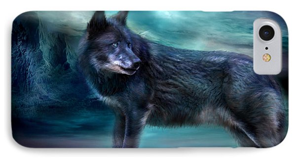 Night Of The Wolf IPhone Case