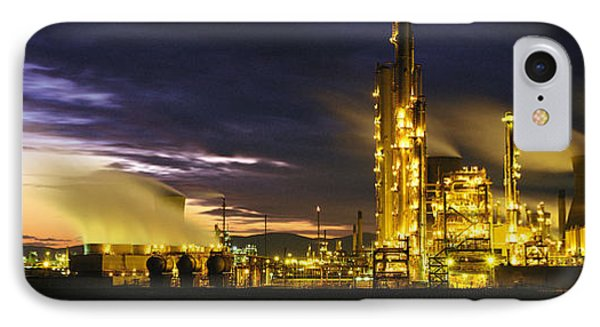 Night Oil Refinery IPhone Case