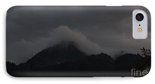 Night On Cougar Mountain IPhone Case by Amanda Holmes Tzafrir