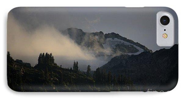 Night On Cougar Mountain Series IIi IPhone Case by Amanda Holmes Tzafrir