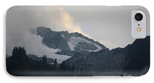 Night On Cougar Mountain Series Iv IPhone Case by Amanda Holmes Tzafrir