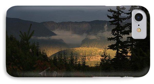 Night On Cougar Mountain Series Vi IPhone Case by Amanda Holmes Tzafrir