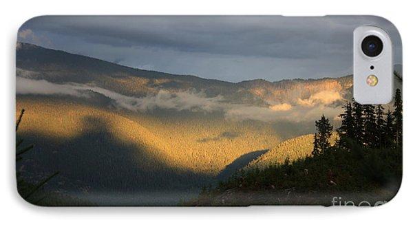 Night On Cougar Mountain Series Viii IPhone Case by Amanda Holmes Tzafrir