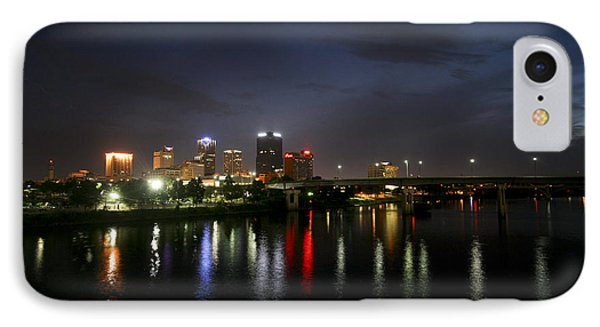 Night On The Junction Bridge IPhone Case by Robert Camp