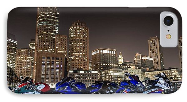 IPhone Case featuring the photograph Night Out by Lawrence Christopher