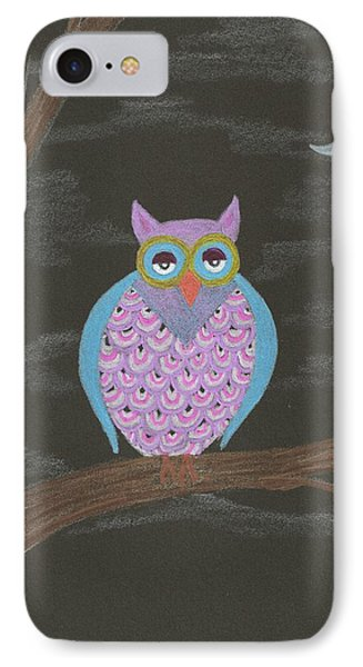 Night Owl IPhone Case by Sheila Byers