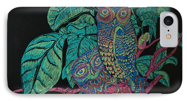 Night Owls Phone Case by Lorinda Fore
